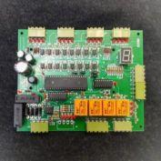 تولید برد جدید کنترل بالابر تا ۸ طبقه(AZ108B) با امکان انواع دربهای لولایی و اتوماتیک